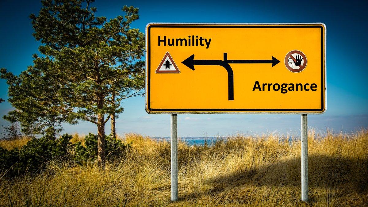 umiltà e arroganza