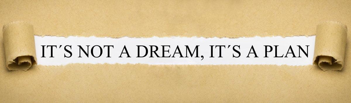 obiettivo significato sogni e obiettivi